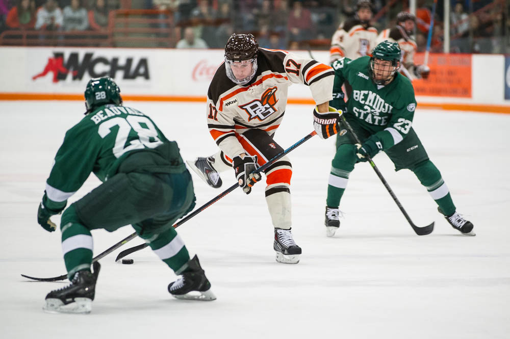 Falcons Overcome Glut of Penalties to Sweep Beavers 3-2