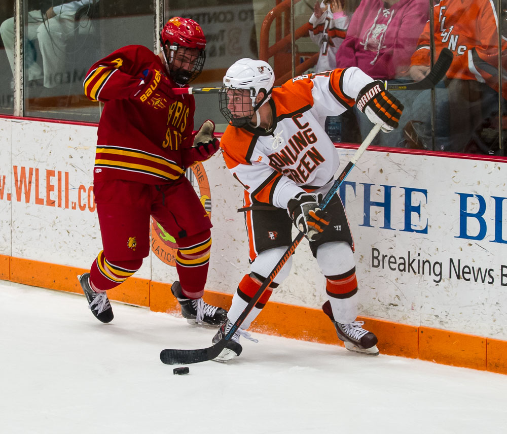 VanWormer sends Ferris State past Bowling Green in overtime